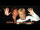 SYLVIE Vartan NATHALIE Baye en duo pour un gros clin d'oeil à JOHNNY TV 1998
