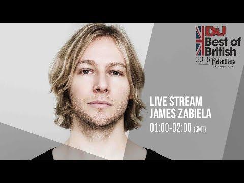 James Zabiela Live from Best of British Awards