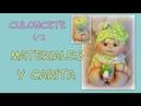 Muñeco bebe culoncete , materiales y carita 1/2 , manualilolis video- 248