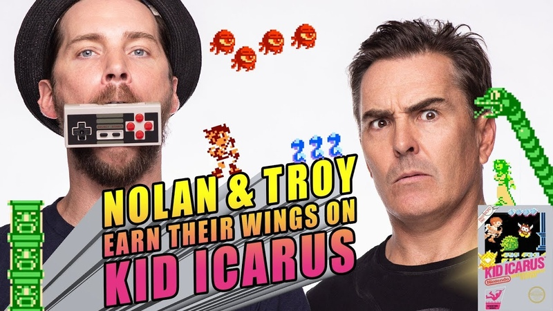 RETRO REPLAY - Nolan and Troy Earn Their Wings on Kid Icarus