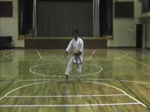 神道自然流 空手術 基本形 体捌き二段 Shindo-Jinen-Ryu-Karate-Jutsu Taisabaki Nidan