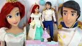 The little Mermaid Ariel And Eric Wedding Doll Set Review (Disney Store)