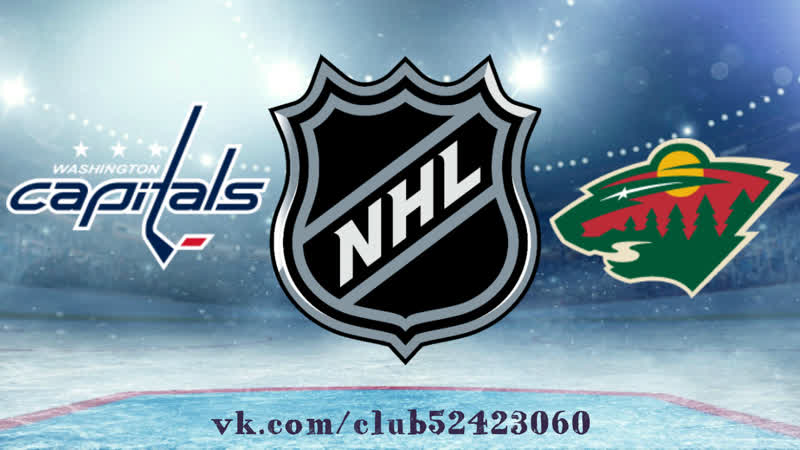 Washington Capitals vs Minnesota Wild | 13.11.2018 | NHL Regular Season 2018-2019