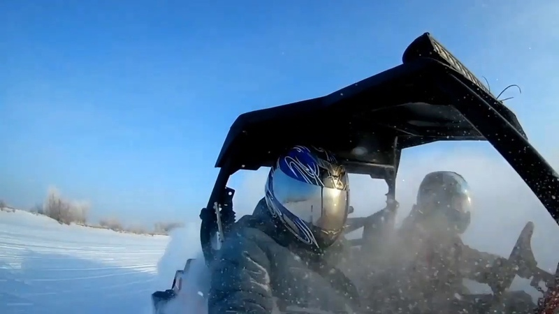 FIT SERVICE Winter drift on all-terrain vehicle