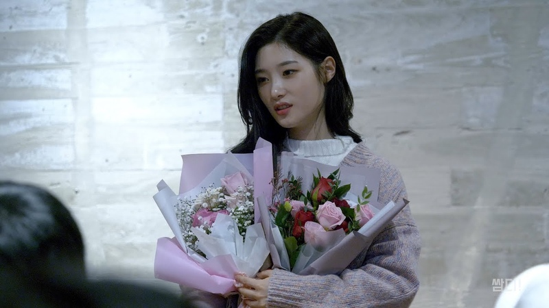 [4K] 20190203 다이아 (DIA) 정채연 SBS 인기가요 MC 마지막 방송 후 미니 팬미팅 직캠
