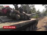 27.09.14. Ополченцы штурмуют позиции силовиков в аэропорту Донецка_ кадры от опо