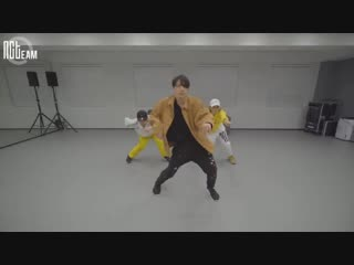 [РУС.СУБ] [N'-68] Тэн - Choreography Practice Behind