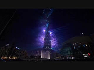 New Years 2019- Dubai puts on world record-setting show