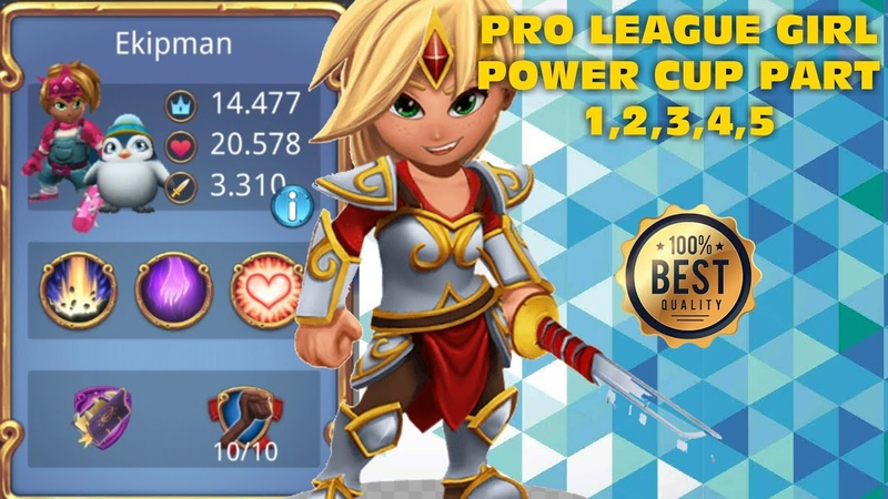 Royal Revolt 2 l Pro League Girl Power Cup Part 1,2,3,4,5