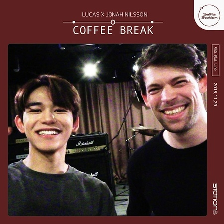 "STATION on Instagram ""[STATION] 셀피테이션 ⠀⠀⠀⠀⠀⠀⠀⠀⠀⠀⠀⠀⠀⠀⠀⠀ 🎧 루카스(LUCAS) X 5131"