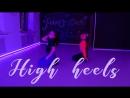 High heels By Marfa J-Dance Studio