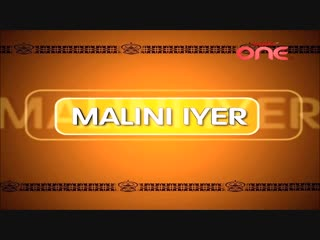Заставка сериала Прекрасная Малини/Malini Iyer (hindi, 2004).