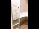 Рабочий уголок и шкаф обувница