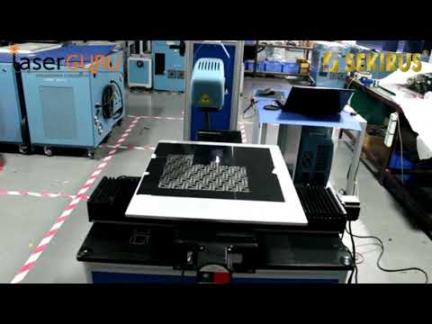 Оптоволоконный лазерный маркер гравер по металлу для больших поверхностей