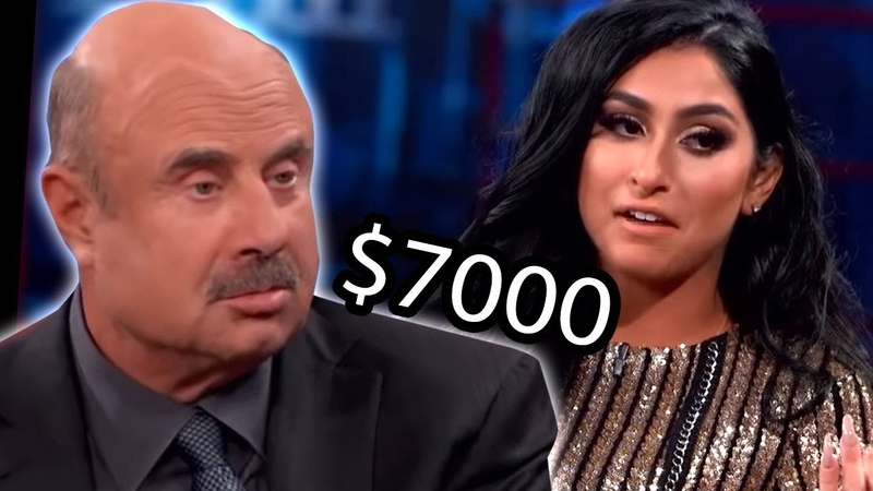 Dr Phil Spoiled Teen Spends $7000 monthly on her looks