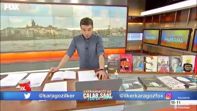6 Mayıs 2018 İlker Karagöz ile Çalar Saat Hafta Sonu 04