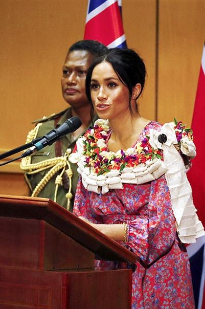 """Сводная сестра Меган Маркл прокомментировала ее вдохновляющую речь на Фиджи: """"Лгунья!"""""""