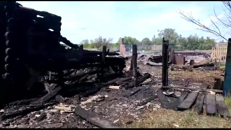 Пожар в Зубово Полянском районе Мордовии Один человек погиб