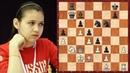 САМАЯ КРАСИВАЯ ПАРТИЯ женской Шахматной Олимпиады 2018 года