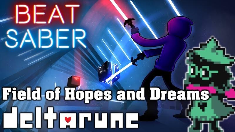 Beat Saber - Field of Hopes and Dreams - Deltarune (custom song)   FC