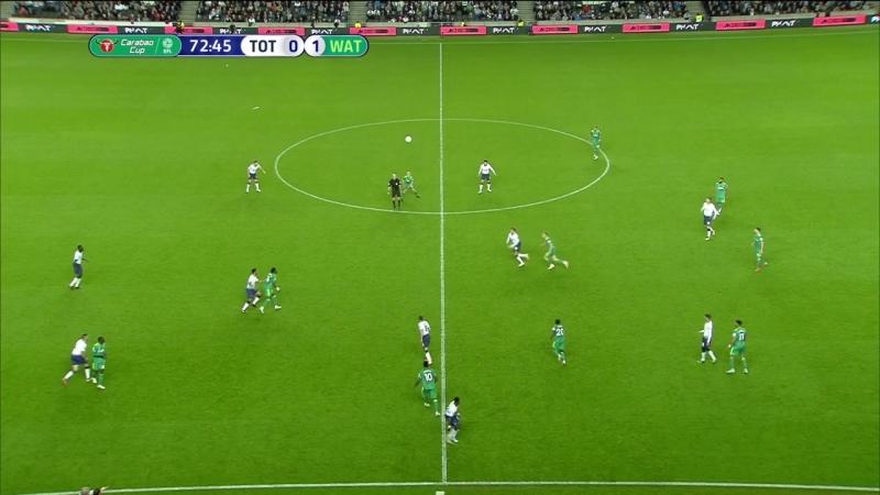 Кубок Лиги 2018-19 / 3-й раунд / Тоттенхэм - Уотфорд / 2 тайм