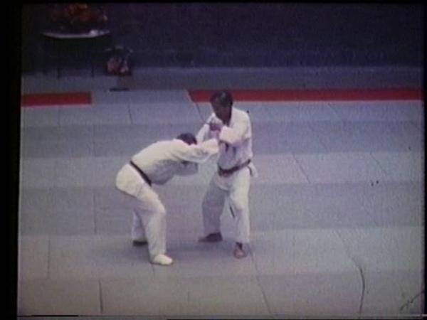 Tai Otoshi Tokio Hirano Lehrgang 1984 in Papendaal Holland