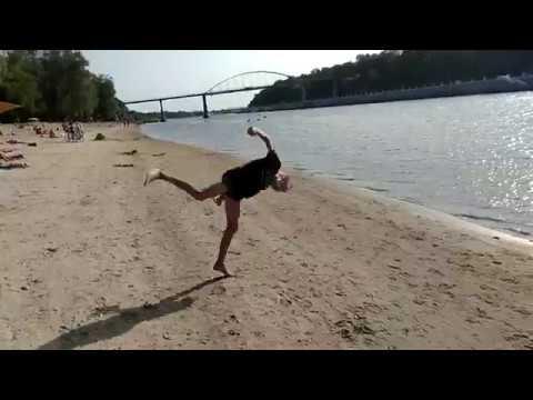 пляжная тренировачка