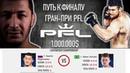 Путь к финалу гран-при PFL Рашид Магомедов vs Натан Шульте