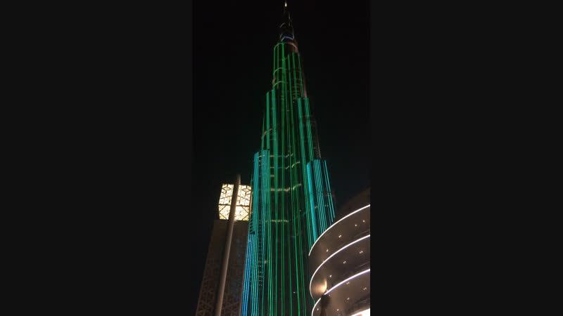 Башня Бурдж халифа