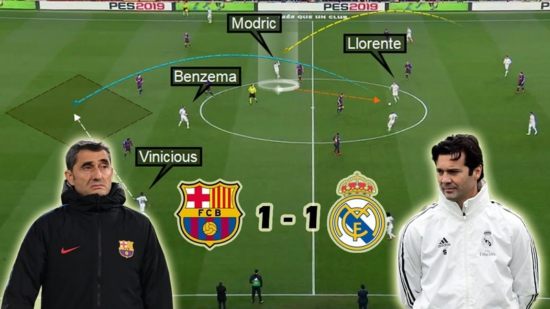 Tactical Battle of El-Clasico   Barcelona vs Real Madrid 1-1   Tactical Analysis