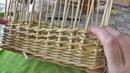 Веревочка с накидом. Плетение из газетных трубочек