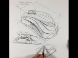 Design sketch | Mouse design by İrfan Çiftçi #Sketches@industrial.design #Tutorial@industrial.design