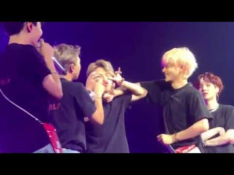 BTS Reaction When RM getting his REVENGE on Jimin 😂😂😂 BTSinLA_Day4