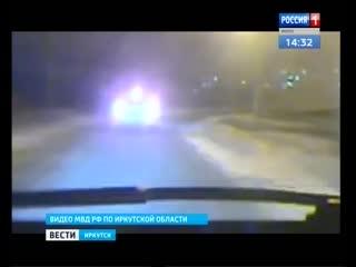 Стрельбой закончилась погоня полицейских за лихачом в Вихоревке