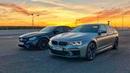 BMW M5 F90 vs. Mercedes-AMG E63s. Спецвыпуск