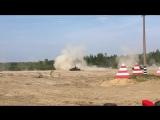 Летающий танк Т-80. День танкиста, Сертолово, 08.09.2018