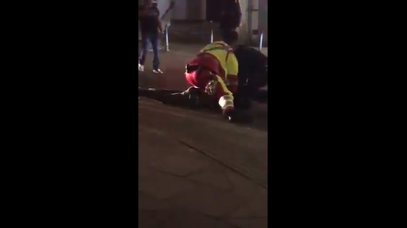 Vanessa Brahimi.Das brutales Video aus Essen, Die Jungs haben null Respekt vor der Polizei .