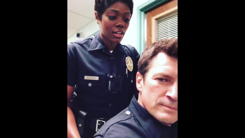 On a future episode of therookie, called The Rookie, The Later Years. @therealaftonw