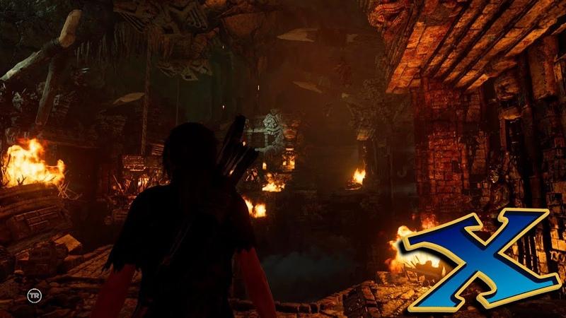 Shadow of the Tomb Raider (ГРОБНИЦЫ) №3: Воющие пещеры