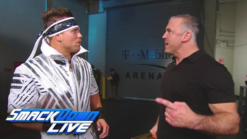[BMBA] Shane McMahon confronts The Miz SmackDown LIVE, Dec. 11, 2018