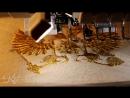 Вышивка двуглавого орла герба России золотой нитью