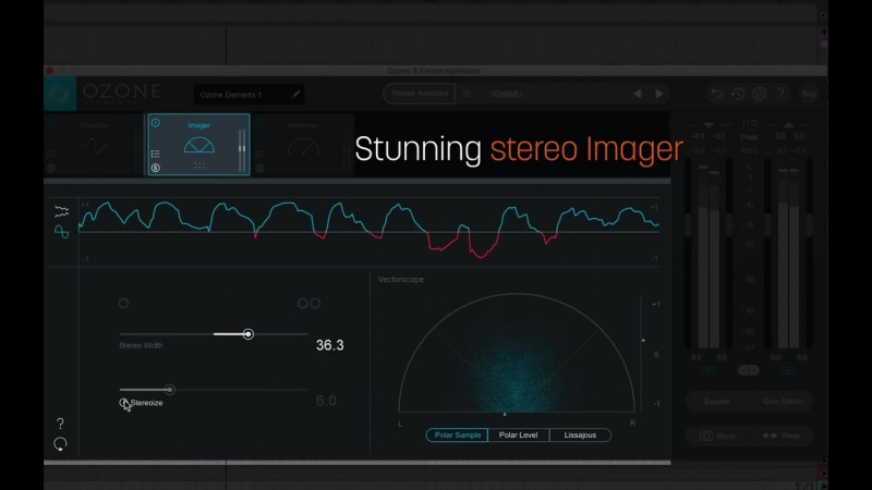 Overview of Ozone Elements Audio Mastering Software
