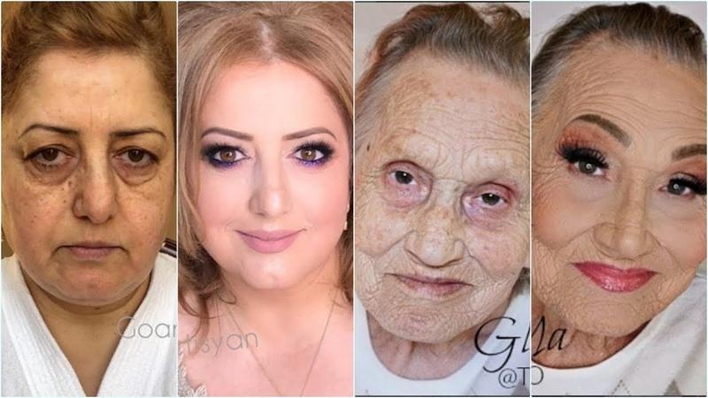 💖 Amazing Mature Skin Makeup Hairstyle Transformations 💖 Makeup Tutorials Compilation 💕💗👌