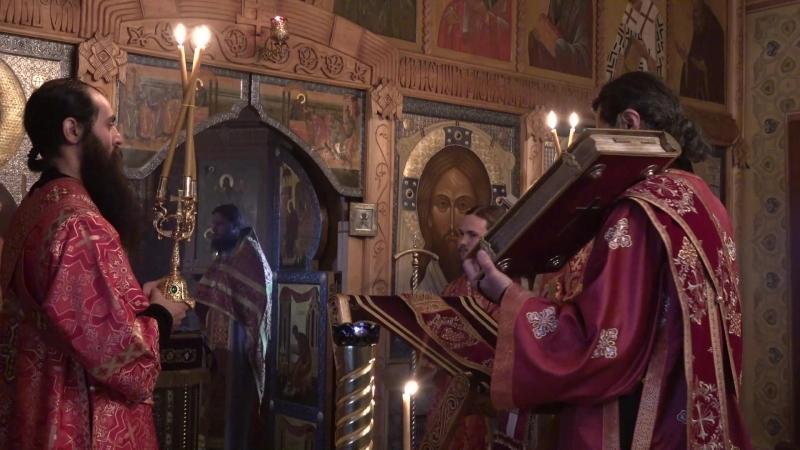 Божественная Литургия в Иоанно-Предтеченском скиту Оптиной пустыни