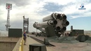 Вывоз РКН «Протон-М» с обсерваторией «Спектр РГ» на стартовый комплекс