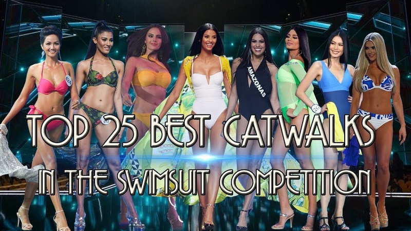 Miss Universe 2018 TOP 25 BEST CATWALKS IN THE SWIMSUIT COMPETITION