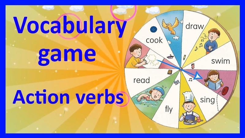 Learn English Action verbs | VOCABULARY GAME (English Lesson 3)