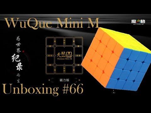 Unboxing №66 WuQue Mini M 4x4x4 QiYi MoFangGe