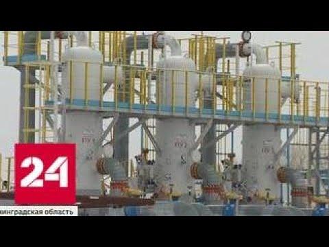 Маршал Василевский готов обеспечить газом всю Калининградскую область - Россия 24