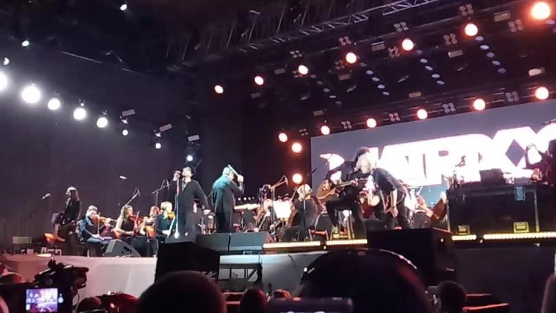 Глеб Самойлоff The MATRIXX - Два корабля (Фестиваль Чернозем 2018. г. Тамбов)